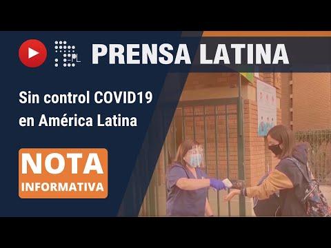 Continúan en aumento casos de Covid-19 en América