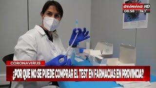 Coronavirus: ya no se pueden comprar test en farmacias