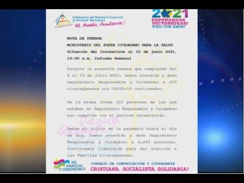 Reporte del MINSA detalla un total de 215 nuevos contagios de coronavirus en el país