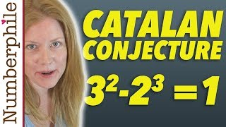 Catalan's Conjecture - Numberphile