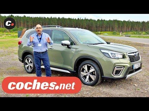 Subaru Forester y XV e-Power SUV híbridos 2019   Primera prueba / Review en español   coches.net