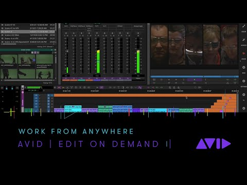 Avid   Edit On Demand — Work From Anywhere
