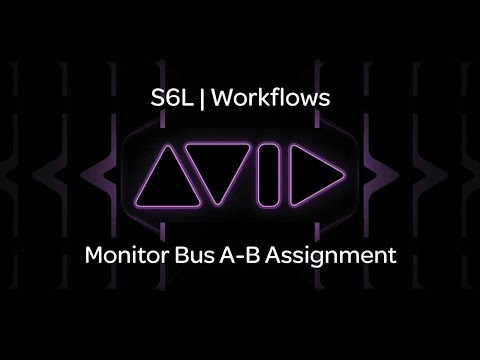 VENUE | S6L — Monitor Bus A-B Assignment