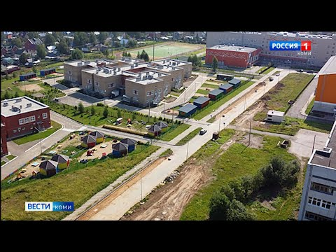 Подъезд к новой школе в сыктывкарской Орбите станет комфортнее
