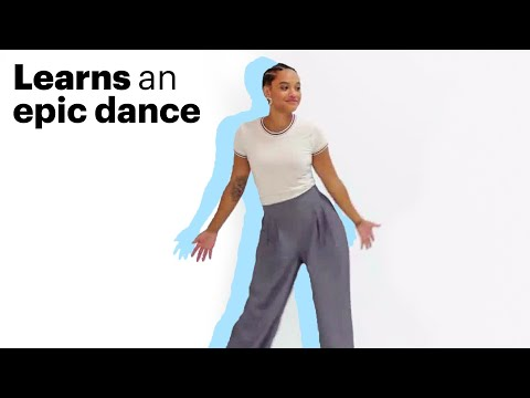 Justice League's Kiersey Clemons Learns an Epic Dance Routine | Allure