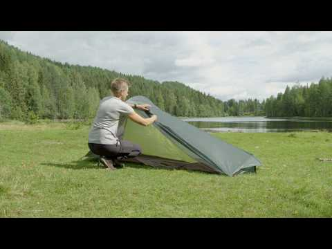 How to set up 6107 Superlight tunnel 1 Tent
