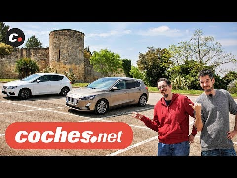 Ford Focus vs Seat León 2019 | Prueba Comparativa / Test / Review en español | coches.net
