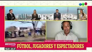 CHICAS VIOLARON LA CUARENTENA PARA JUGAR AL FÚTBOL: partido con espectadores - El Noti de la Gente