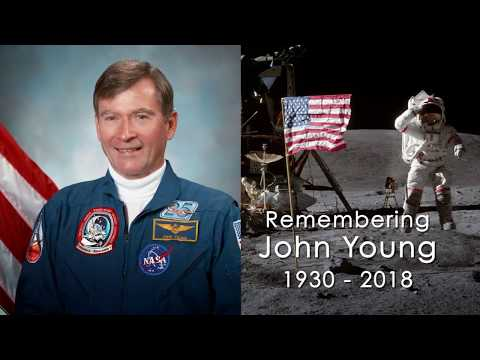 connectYoutube - Remembering NASA Astronaut John Young, 1930 - 2018