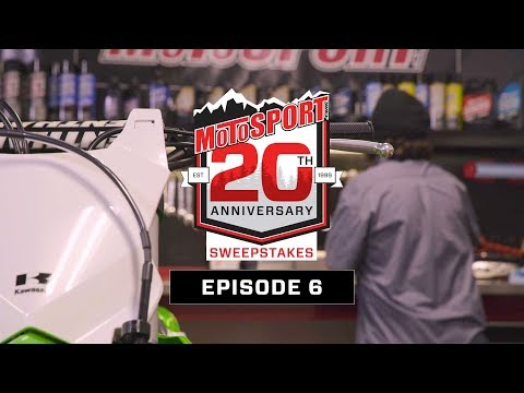 The MotoSport.com 20th Anniversary Sweepstakes | Episode 6