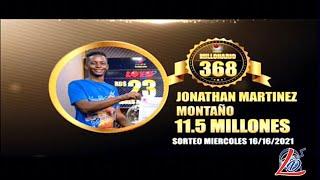 Feliz Ganador Loto Leidsa del 16 de Junio del 2021 RD$11.5 Millones (Benito Monción- Dajabón)