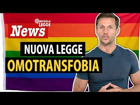 Nuova legge omotransfobia | avv. Angelo Greco