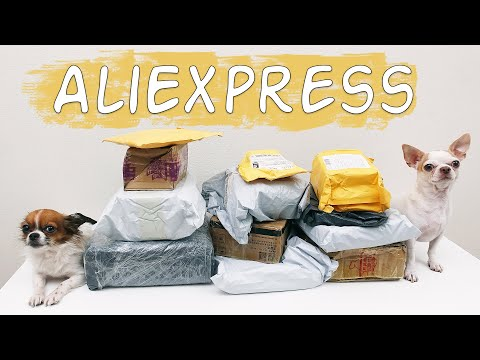 Распаковка посылок с Алиэкспресс! Что внутри?