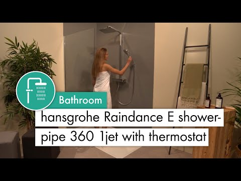 hansgrohe Raindance E Showerpipe 360 1jet with thermostat #27112400