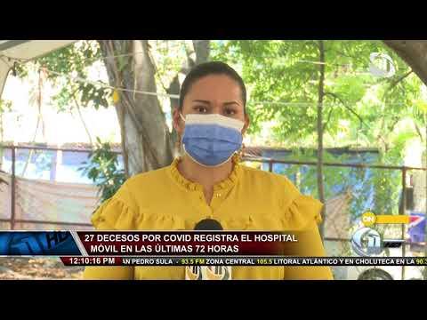 Once Noticias Meridiano | Al menos 30 personas contagiadas con Covid-19 en asilo de Copán