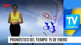 Pronóstico del tiempo: Viernes 15 de enero | TV Tiempo