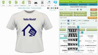Tee Shirt Designer Online Shirt Designer T Shirt Designing Software By Cbsalliance Com Youtube