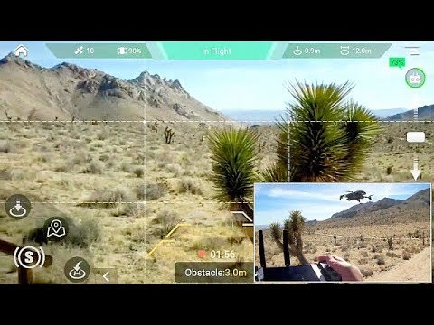 GDU O2 Sliding Arm Drone Obstacle Avoidance Flight Test Review