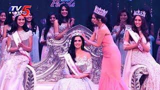 Femina Miss India 2017 : Manushi Chhillar From Haryana takes the Crown