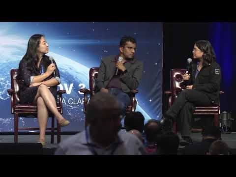 Dileep George and Kaijen Hsiao at AI Frontiers 2017 : Panel - Robots