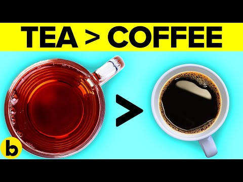 9 Reasons Why You Need To Drink Tea Over Coffee