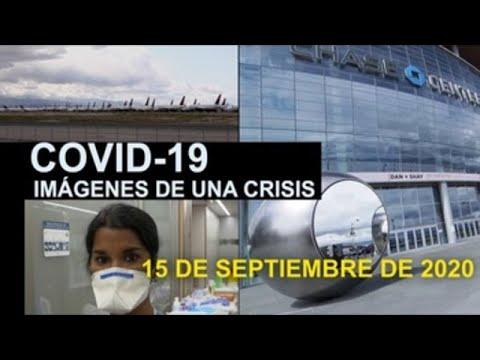 Covid-19 Imágenes de una crisis en el mundo. 16 de septiembre