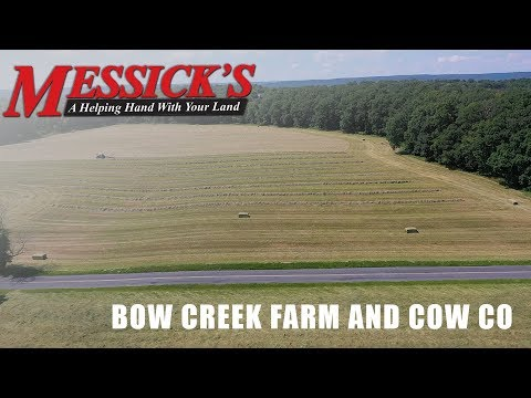 The hay making process with Bow Creek Farm Picture