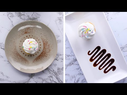 How to Plate Like a Professional Chef! Easy Plating Hacks by So Yummy