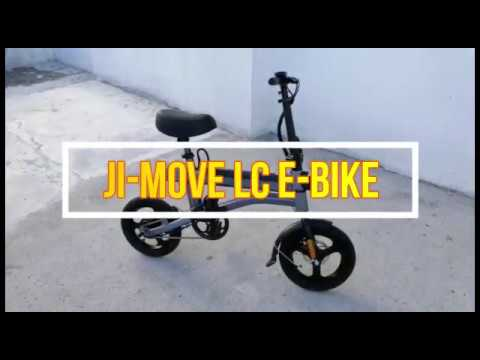 JI-MOVE LC LTA approved electric bicycle   Features