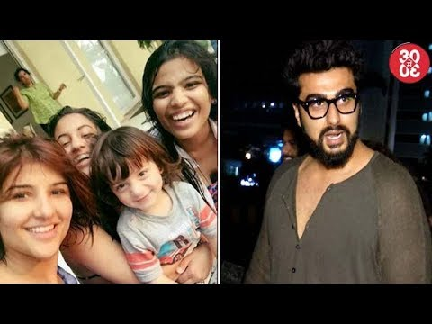 AbRam Happily Poses With Sister Suhana's Friends | Arjun Hangs Out With Close Friends & Cousin Mohit