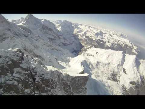 Ekstremalne latanie nad górami