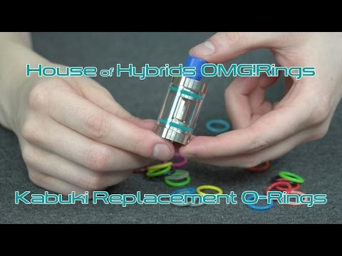 Product Spotlight: House of Hybrids OMG! Rings Kabuki Replacement O-Rings