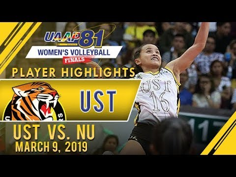 UAAP 81 WV: Sisi Rondina's Best Plays | UST vs. NU | March 9, 2019