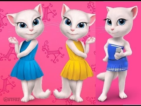my talking angela and my talking tom