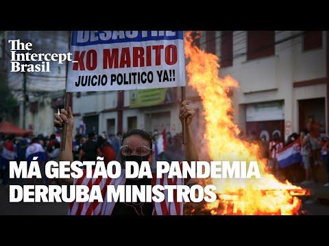 Má gestão da pandemia derruba ministros (não no Brasil)