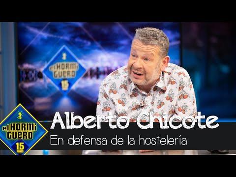 Alberto Chicote en defensa de la hostelería contra las restricciones del coronavirus – El Hormiguero