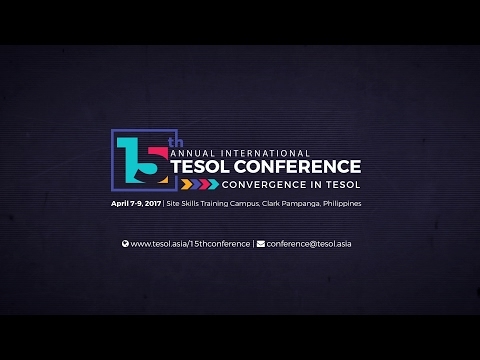15th Annual International TESOL Conference