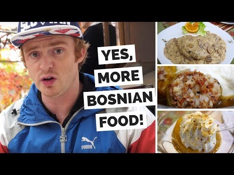 Mostar Food Review – Eating Bosnian Dishes at Šadrvan Restaurant in Mostar, Bosnia and Herzegovina