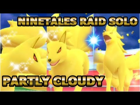 connectYoutube - Just a Ninetales raid solo under the moon light in Pokemon GO