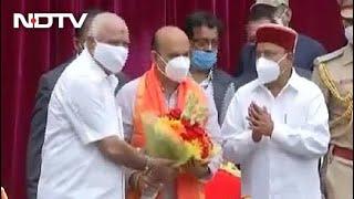 Yediyurappa Loyalist Basavaraj Bommai Sworn In As New Karnataka Chief Minister - NDTV
