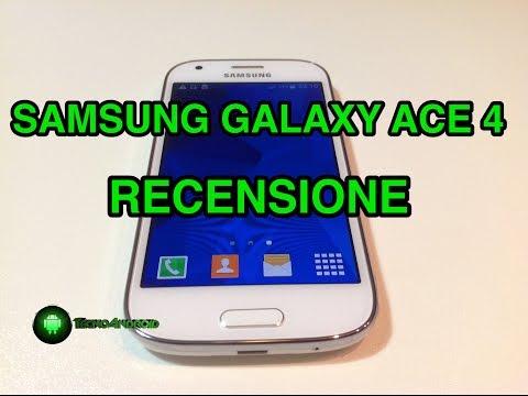 Samsung Galaxy Ace 4 - recensione in italiano