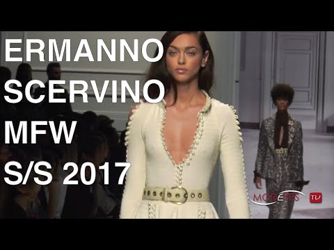 ERMANNO SCERVINO | SPRING SUMMER 2017 WOMAN - FULL FASHION SHOW | Exclusive by Modeyes TV