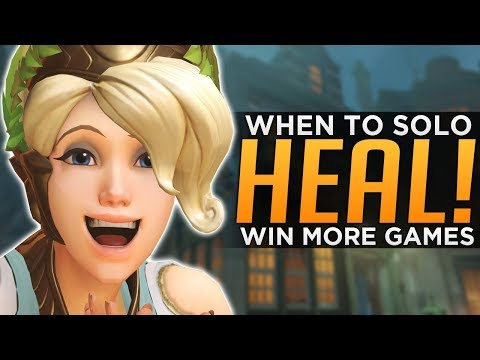 connectYoutube - Overwatch: How to WIN With Solo Heal! - Make BAD Comps GOOD!