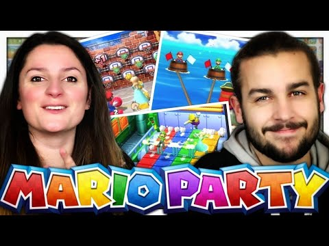 connectYoutube - ENCHAÎNEMENT DE MINI JEUX ! | MARIO PARTY THE TOP 100 FR