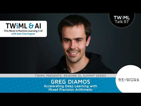 Greg Diamos Interview - Accelerating Deep Learning with Mixed Precision Arithmetic