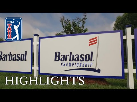 Highlights | Round 4 | Barbasol 2018