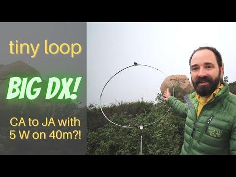Tiny Magnetic Loop - Big DX