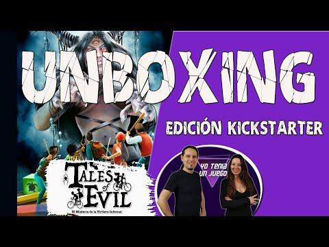 Tales of Evil (Unboxing) - Yo Tenía Un Juego De Mesa #83