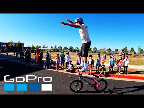 GoPro: Donating Strider Bikes to Schools with Brian Lopes   All Kids Bike