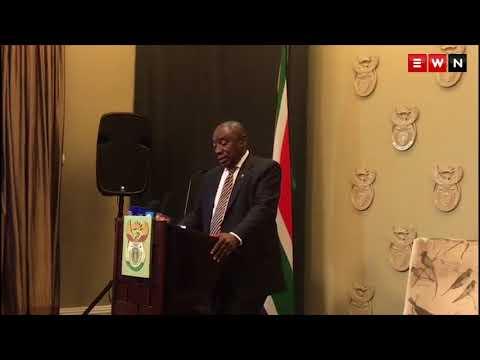 Cyril Ramaphosa addresses SANEF